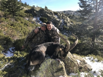 Combined hunting in Spain